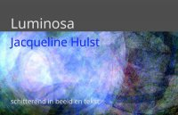 Geweest: 10 september - begin oktober: Jacqueline Hulst - luminosa